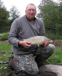 First fish of the day: 4lb 0oz Common Carp