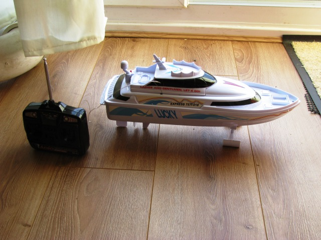 "The New Boat - 15"" Long"