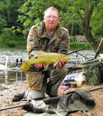 2015-07-21 Steve 3lb 9oz Tench