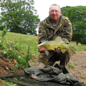 2015-08-11 Steve 3lb 5oz Tench