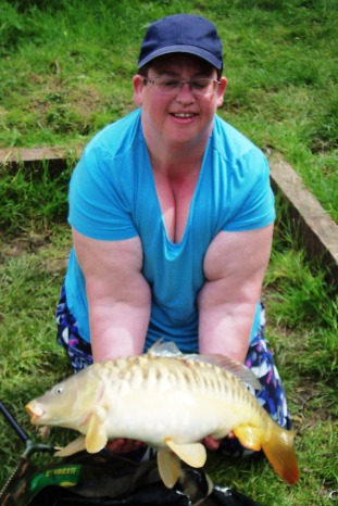12lb 13oz Mirror Carp - New PB