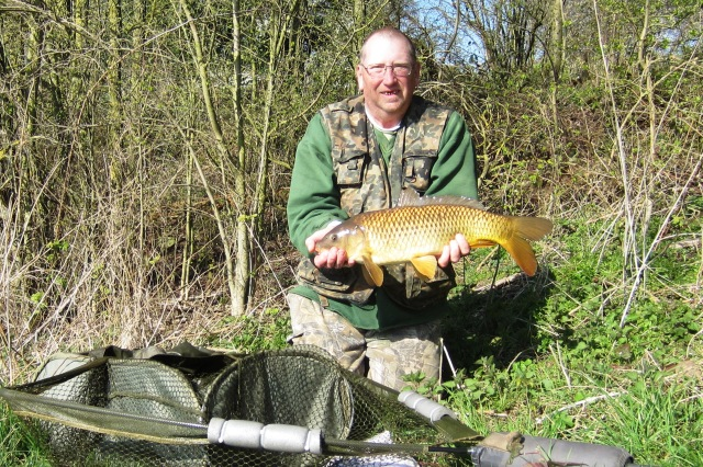 2019-03-28 Steve - 6lb 10oz Common Carp