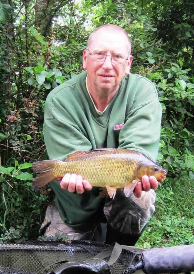 2020-06-15 Steve - 2lb 5oz Common Carp