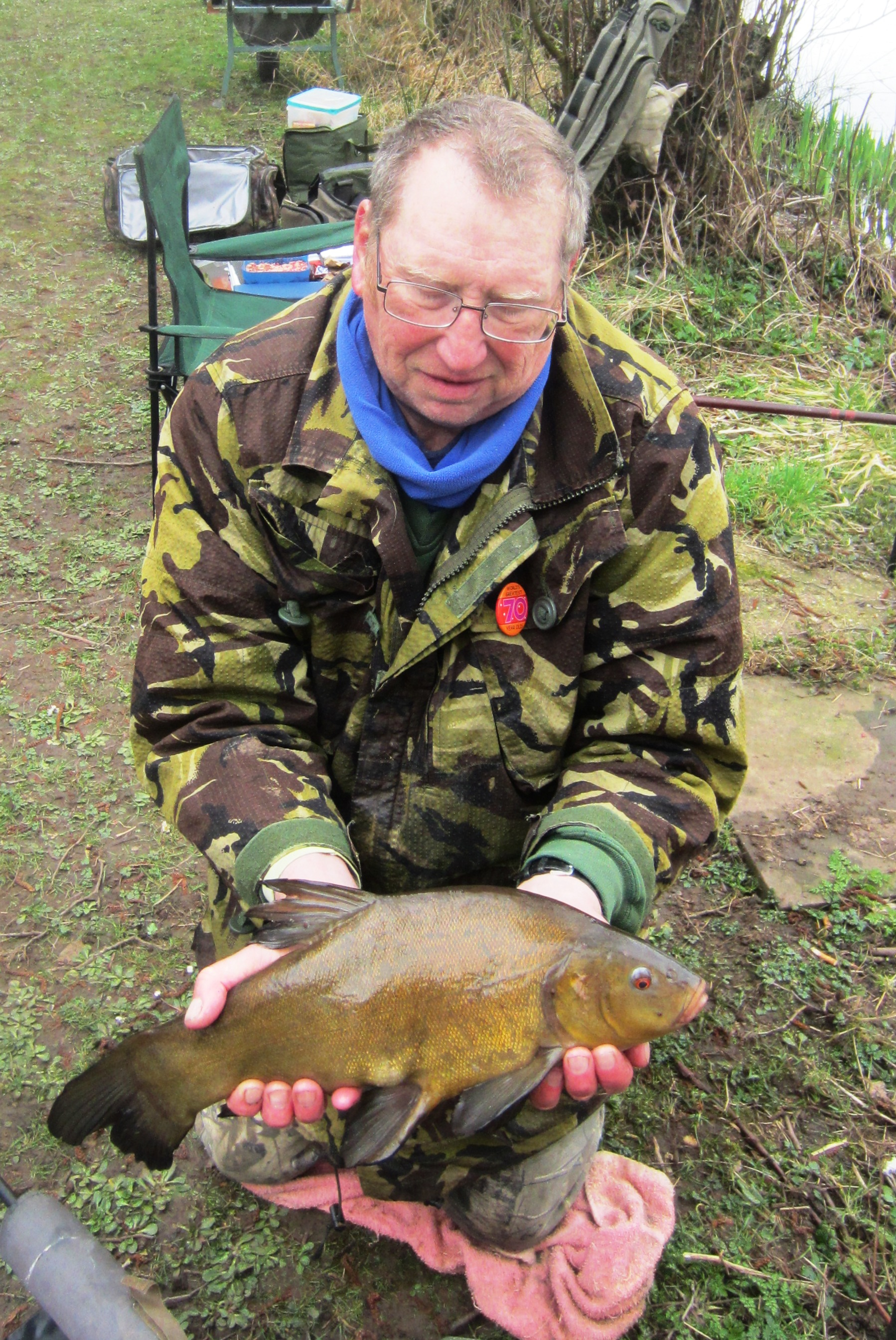 2021-03-22 Steve - Tench 3lb 12oz