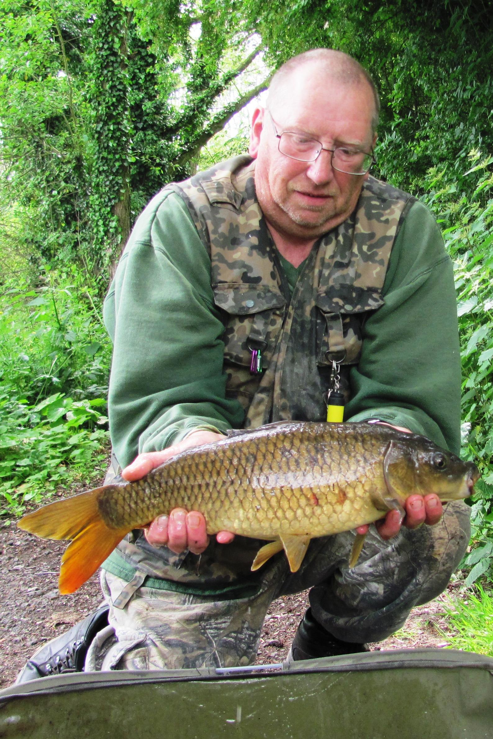 2021-05-07 Steve - 4lb 6oz Common Carp