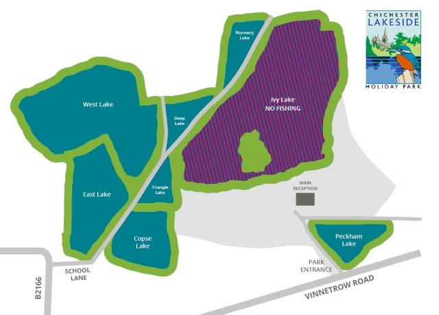Chichester Lakes Map